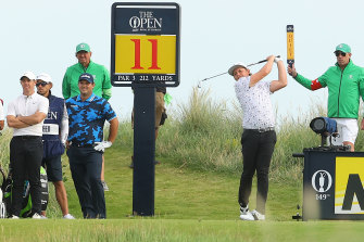 Cameron Smith went into the last round of The Open with an outside chance.