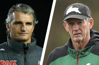 Ivan Cleary and Wayne Bennett.