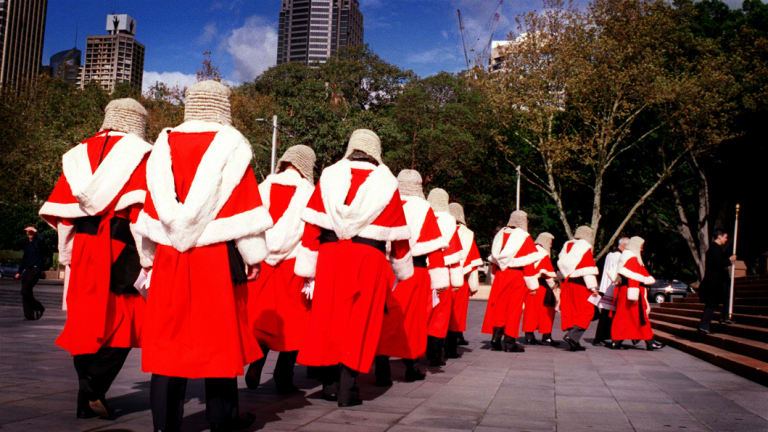 In March this year, only 32 per cent of judges and magistrates were women.