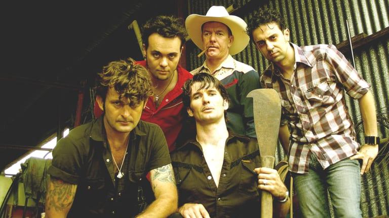 Australian band Six Ft Hick.