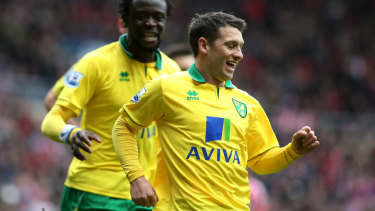 Proven performer: Wes Hoolahan spent 10 years with Norwich.
