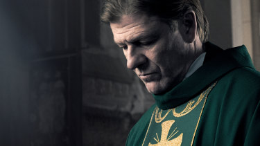Sean Bean stars as Father Michael in Broken.