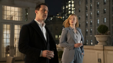 Kendall (Jeremy Strong) and Siobhan (Sarah Snook) are the strongest contenders to take over their father's media empire.