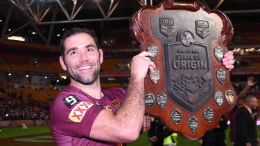 Cameron Smith was part of a golden era for the Queensland Origin team.