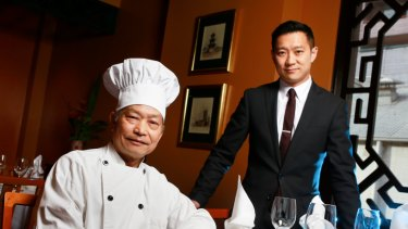 Father and son team of the Flower Drum restaurant, Anthony and Jason Lui.