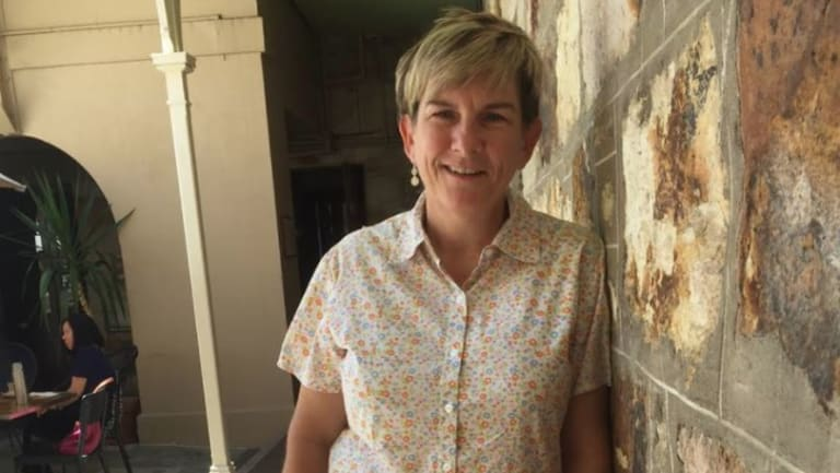 Dr Katie McConnel, lamington expert and curator of Brisbane's Old Government House, which was the turn-of-the-century home for Lord and Lady Lamington, for whom the lamington was invented.