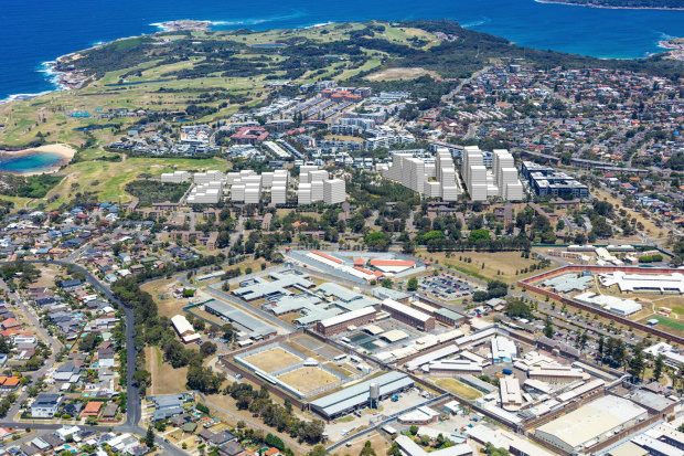 Meriton's development proposal for LIttle Bay has been rejected by a planning panel.
