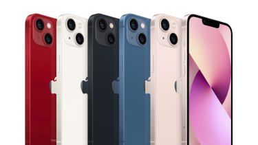 The iPhone 13 and 13 mini don't come in green or purple this year, but they do come in pink.
