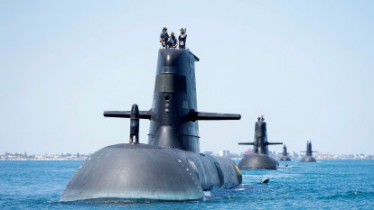 Australia's ageing submarine fleet could still be operating in 2050s while waiting for nuclear boats