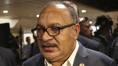 Former PNG prime minister arrested over corruption charges