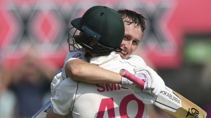 Labuschagne finds the gaps to fill one left by usual talisman