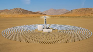 Solar thermal technology can offer 24-hour power, unlike solar photovoltaic panels.