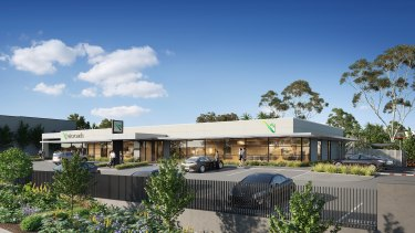 VicRoads' under-construction centre at 93A Heatherdale Road has a 12-year lease.