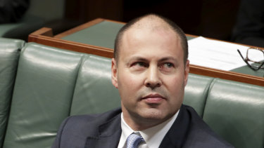 Treasurer Josh Frydenberg was targeted during the federal election.