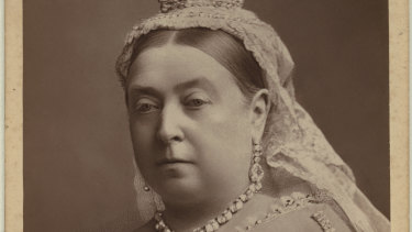 She needed a pen: Queen Victoria.
