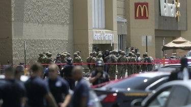 Several law enforcement agencies respond to the El Paso shooting.