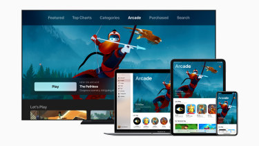 Apple Arcade will be available across iPhone, iPad, Mac and Apple TV.