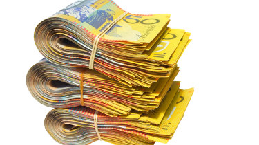The ATOs estimate included $1.4 billion unreported income from cash wages.