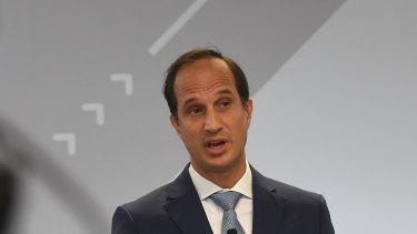 AMP CEO Francesco De Ferrari.