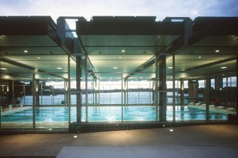 The 20-year-old structure that houses the 25-metre indoor swimming pool was subject to a design excellence competition.