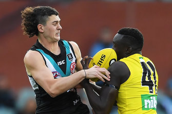 Port Adelaide got the win the last time they met Richmond.