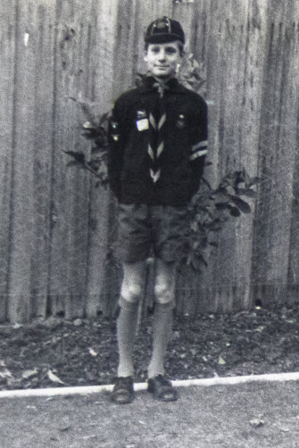 Ten-year-old Alan Attwood in 1967,  a proud member of 4th Kew Cubs. Photo courtesy of Alan Attwood