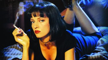 Uma Thurman in Pulp Fiction, the film that made Harvey Weinstein famous.