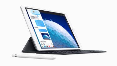The new Apple iPad Air.