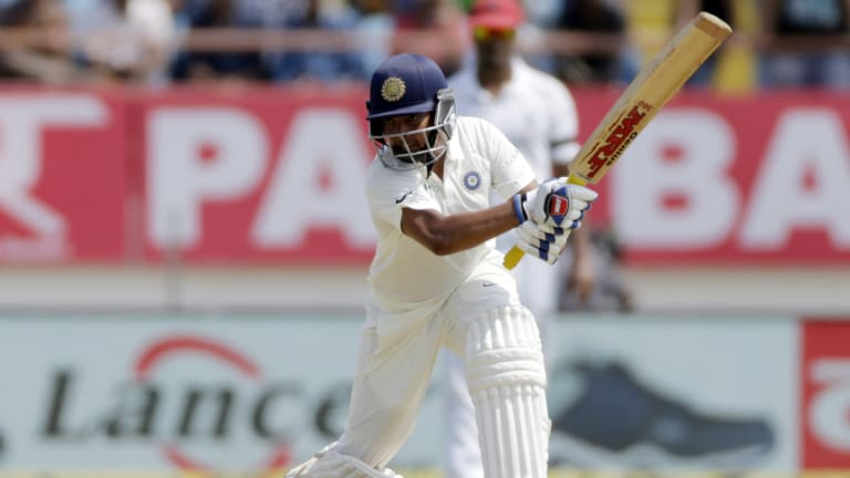 The teenager has long been compared with the legendary Sachin Tendulkar.