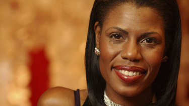 In less controversial times: Omarosa appeared on The Apprentice in 2004.