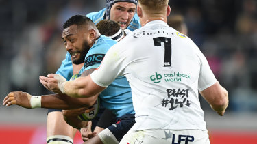 London calling: Sekope Kepu will join Premiership side London Irish following the World Cup which begins in September.