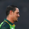 De Kock century helps South Africa take England down a peg