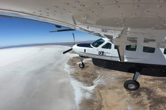 may8outback outback pubs australia ; text by Craig Tansley ; SUPPLIED via journalist ; credit: Outback by Air