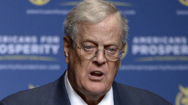 David H Koch has died at the age of 79.