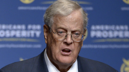 US billionaire and conservative icon David Koch dies aged 79