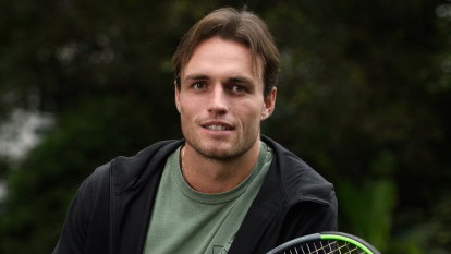 'I just didn't want to be on a tennis court': O'Connell's remarkable rise from boat cleaner to Australian Open