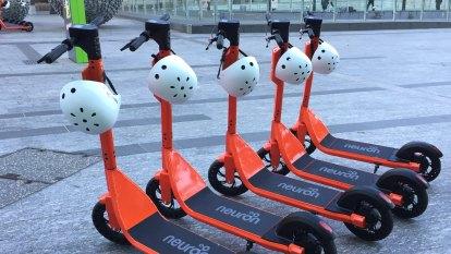 Helmet fines to soar as e-scooter fleet doubles in Brisbane