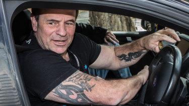 John Setka leaves the meeting of CFMEU shop stewards in Melbourne on Thursday.