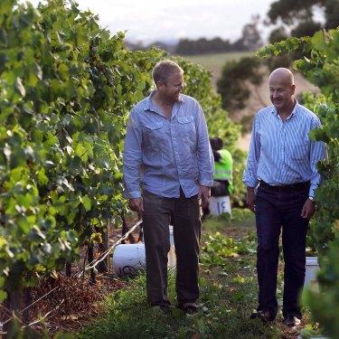 Adam Wadewitz and Martin Shaw of Tasmania's Tolpuddle.