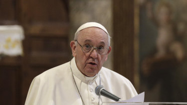 "Pope Francis has criticised ""trickle down"" economics."