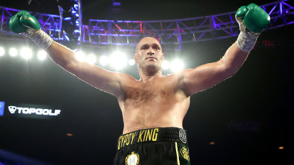 Fury new WBC heavyweight champ after inflicting first loss on Wilder