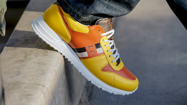 There are about 1 billion permutations of Luis Vuitton's Now Yours sneaker.