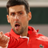 'We've paid, we'll stay': Bizarre scenes as quarter-final halted before Djokovic win
