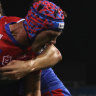 Still sick after Morris sacking, Sharks fall victim to ill Ponga's miracle
