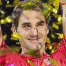 'That was amazing': De Minaur in awe after Federer masterclass in Swiss finale