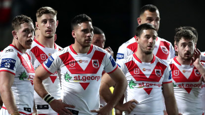 Griffin 'not asking for time' as he rejects need to rebuild Dragons