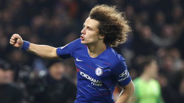 David Luiz is likely to get a hot reception back at Stamford Bridge after switching to Arsenal.