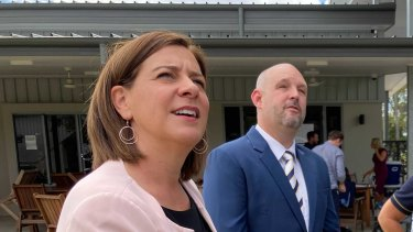 Queensland Opposition Deb Frecklington has ruled out backing the Katters' plan to split the state in two.