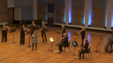 The MSO Marathon was a mixture of live and pre-recorded performances.