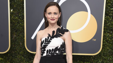 Cybersecurity firm McAfee has crowned Alexis Bledel as the most dangerous celebrity on the internet.